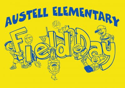 1 Color Field Day Design