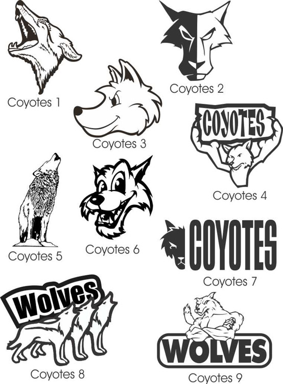 mascots-119-Coyotes and Wolves1