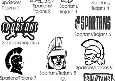 mascots-164-Spartans and trojans