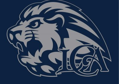 school-007-Loganville Christian Academy gray lion