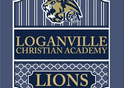 school-008-Loganville Christian Academy Simply Lions Shirts